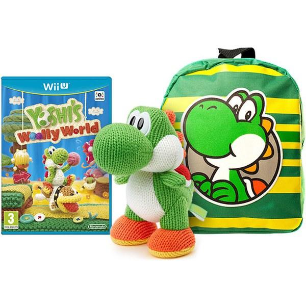 Yoshi S Woolly World Mega Yarn Yoshi Amiibo Pack