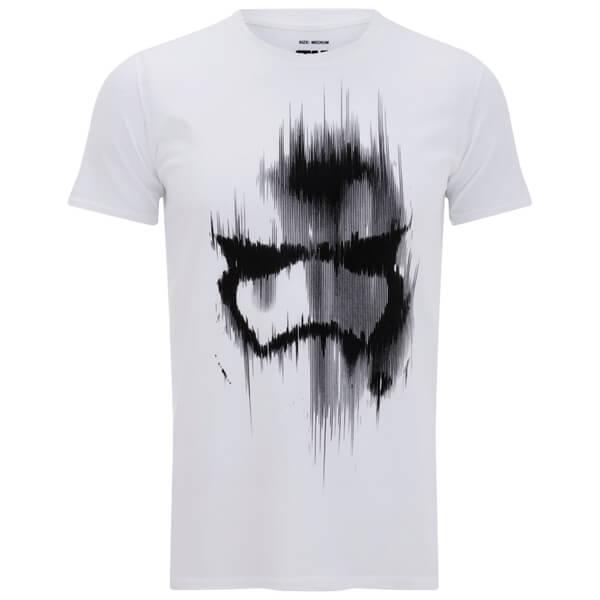 Star Wars Trooper Mask Herren T-Shirt - Weiss | SOWIA