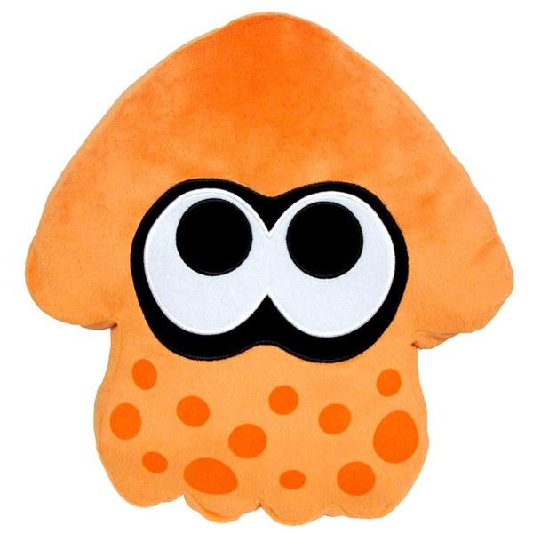 Splatoon Inkling Squid Cushion (Orange)