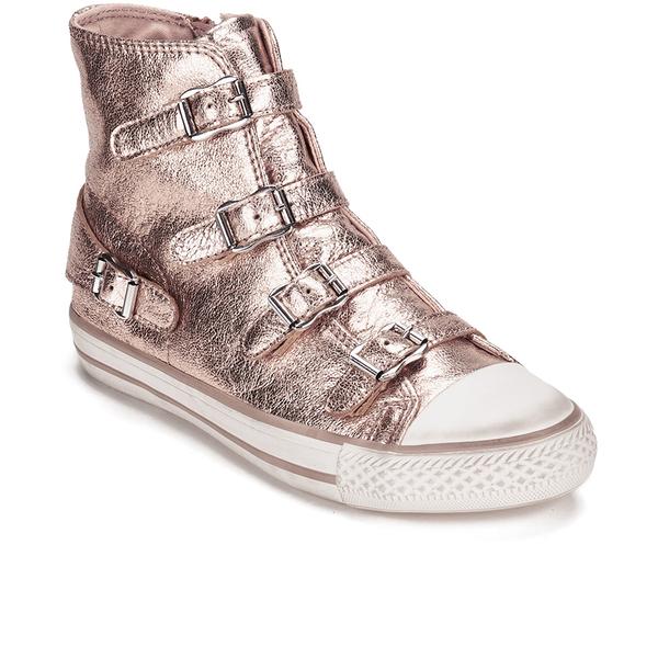 07abc7caf5d6 Ash Women s Virgin Metal Rock Hi-Top Trainers - Rame Womens Footwear ...