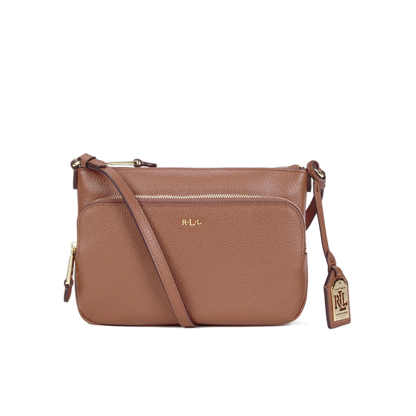 Lauren Ralph Lauren Women\u0027s Harrington Cross Body Bag - Tan: Image 1