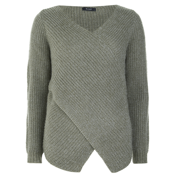 VILA Women's Match Wrap Jumper