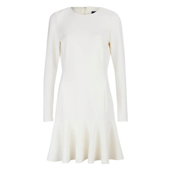 Polo Ralph Lauren Women s Long Sleeve Emillian Dress - Oyster Bay  Image 1 6b91ff0b68
