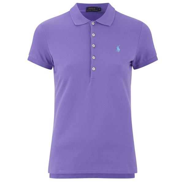 Polo Ralph Lauren Women s Julie Polo T-Shirt - Hampton Purple - Free ... 80c2cc537