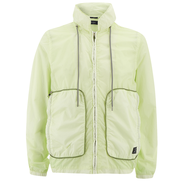 Paul Smith Jeans Men's Nylon Limonta Jacket - Neon Yellow