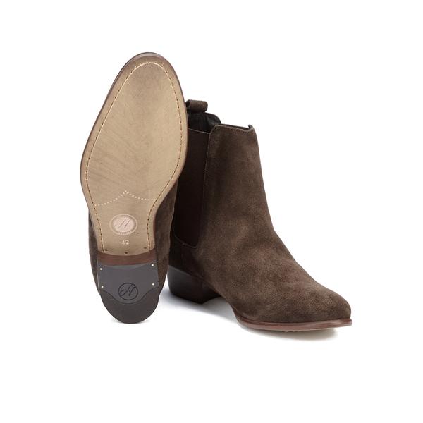Hudson London Men\'s Watts Suede Chelsea Boots - Brown Mens ...