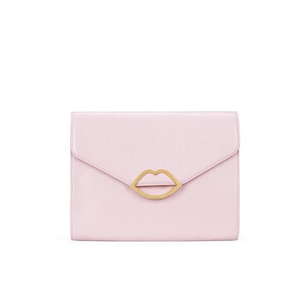 Lulu Guinness Women's Leila Clutch Bag - Light Magenta