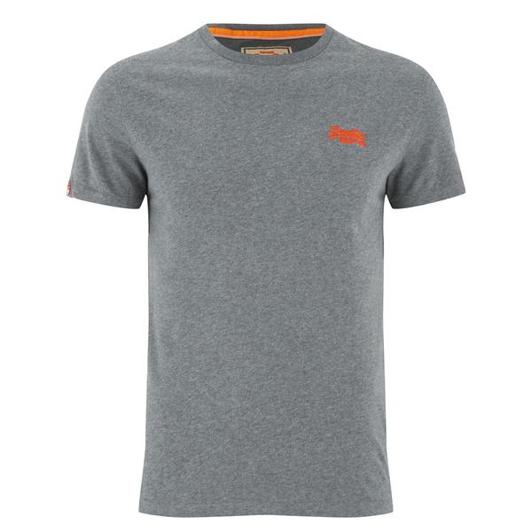 Superdry men s orange label vintage embroidery t shirt