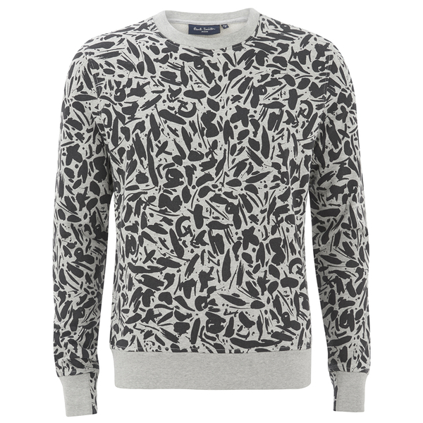 Paul Smith Jeans Men's Printed Sweat Shirt - Grey
