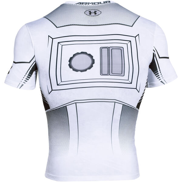 Under Armour Men s Star Wars Trooper Compression Short Sleeve T-Shirt -  White 1f6316e52