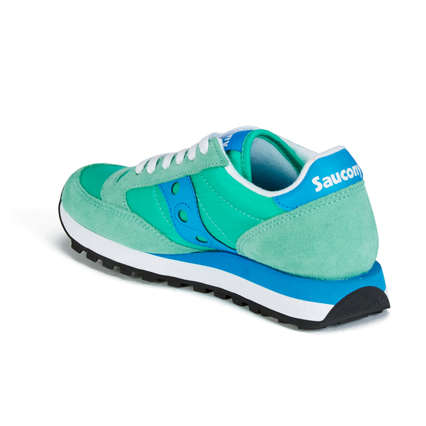 new style 74417 f55cd Saucony Women s Jazz Original Trainers - Light Green Blue  Image 5