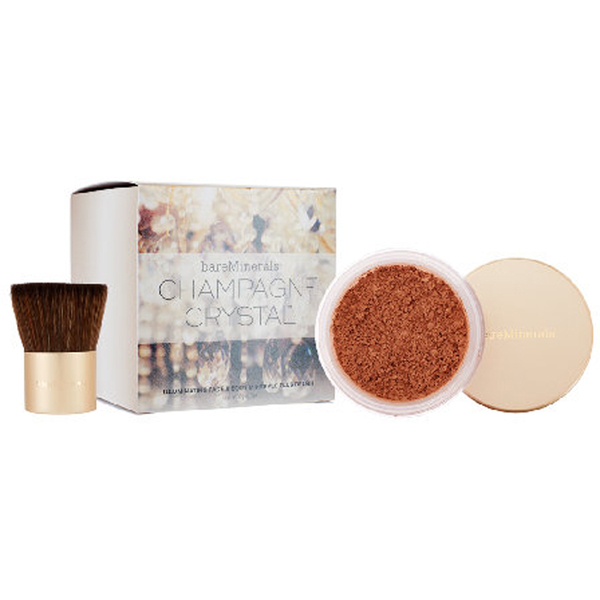 Bare Minerals Champagne Crystals Face and Body Set (Worth £54.00)