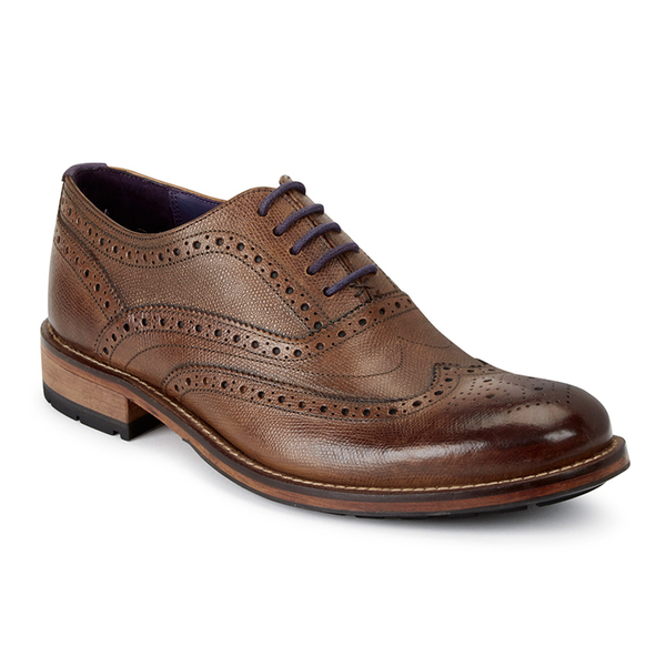 d543453bc Ted Baker Men s Guri 8 Leather Brogues - Tan  Image 2