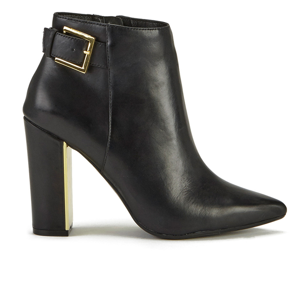 Ted Baker Women's Preiy Leather Heeled Ankle Boots - Black