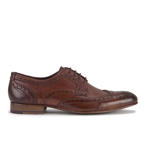 3a7688a07b64 Ted Baker Men s Gryene Leather Brogues - Tan  Image 1