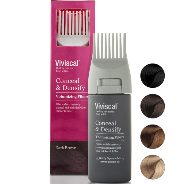 Viviscal Hair Thickening Fibres for Women - Dark Brown