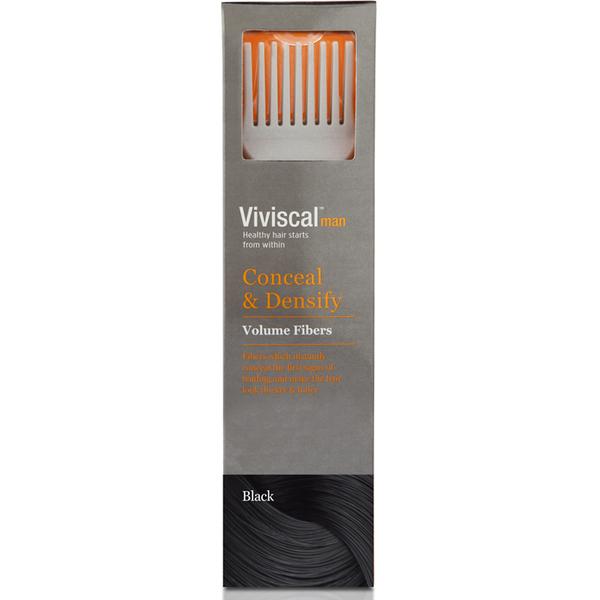 Viviscal 髪を濃くするファイバーフォーメン - ブラック
