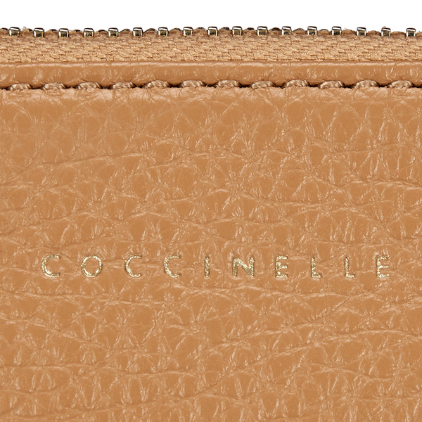 7be784f37b Coccinelle Women's Buste Leather Clutch Bag - Light Tan: Image 3