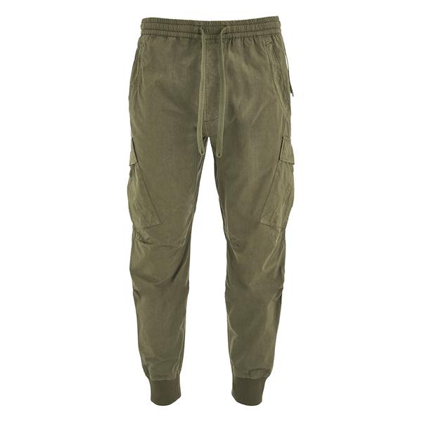 Maharishi Men's Cargo Track Pants - Maha Olive