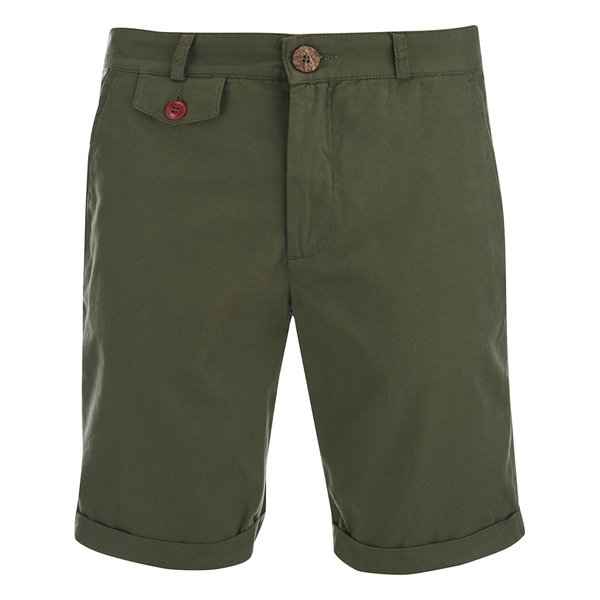 Oliver Spencer Men's Skinny Shorts - Calvert Green