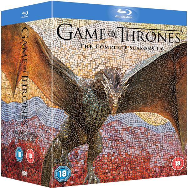 Game Of Thrones - Series 1-6 Blu-ray   Zavvi España