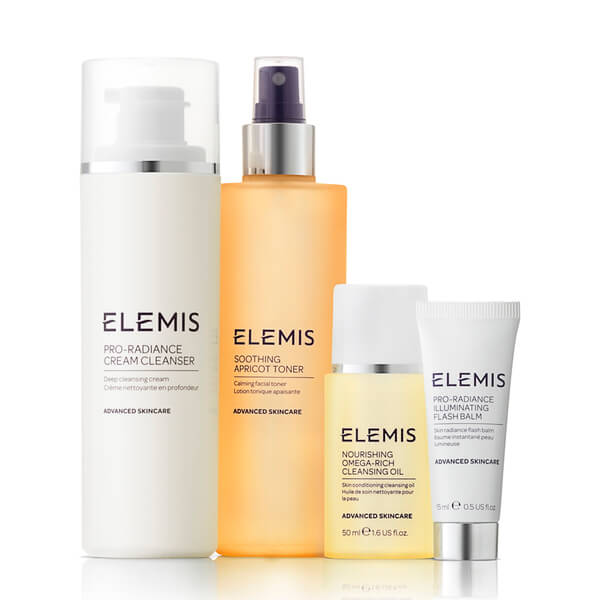 Elemis Kit Beautifully Radiant Cleansing Collection (стоит £69,75)