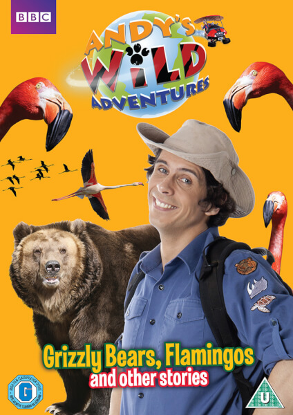 Andy's Wild Adventures - Grizzly Bears, Flamingos and other stories