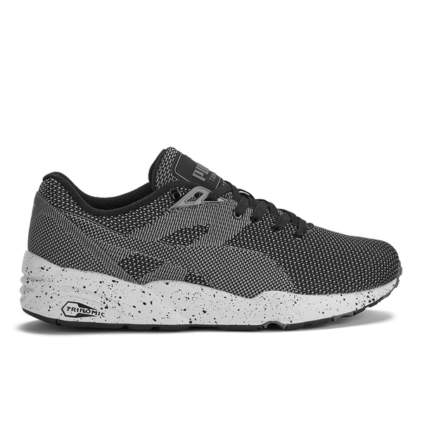 Puma Men's Running R698 Knit Mesh V2 Low Top Trainers - Black