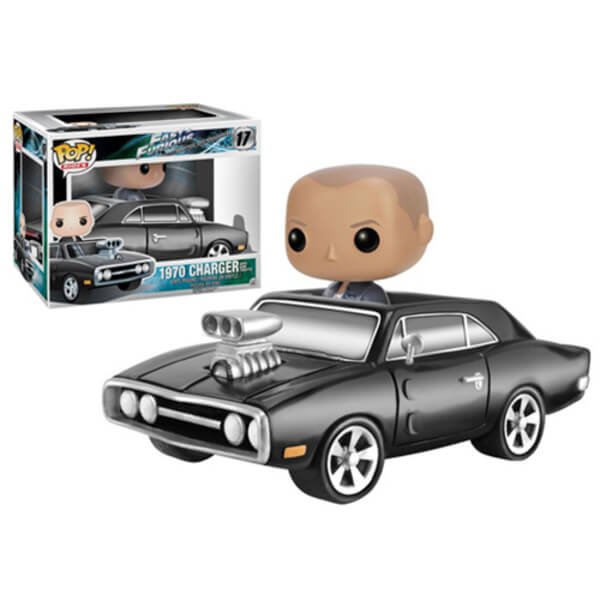 Fast and Furious Dom Toretto With 1970 Dodge Charger Pop! Vinyl Vehicle