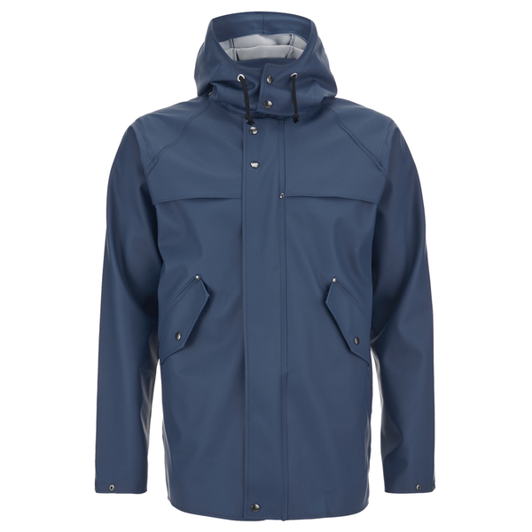 Elka Men's Hellum Rain Jacket - Shelter Blue