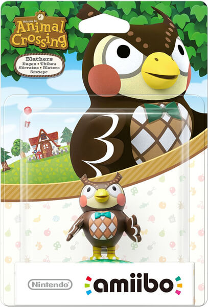 Figura Amiibo Sócrates - Animal Crossing