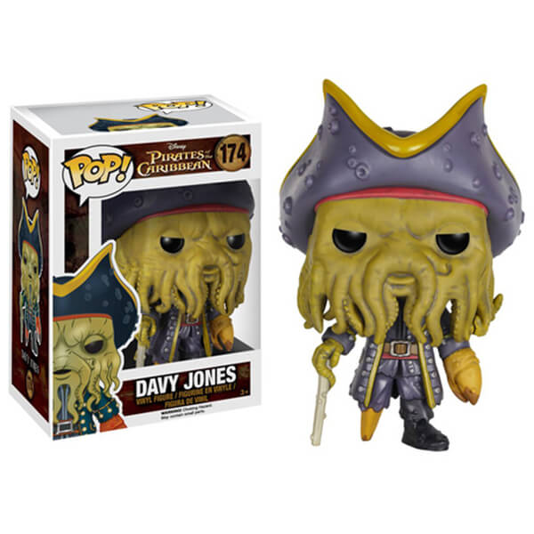 Disney Pirates of the Caribbean Davy Jones Pop! Vinyl Figure