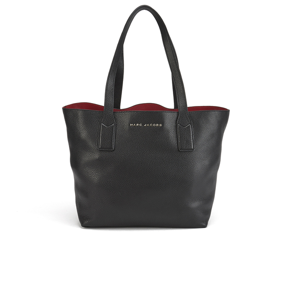 Marc By Jacobs Womens Wingman Ping Tote Bag Black Image 1