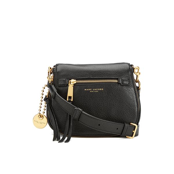 Marc Jacobs Women's Recruit Small Saddle Bag - Black