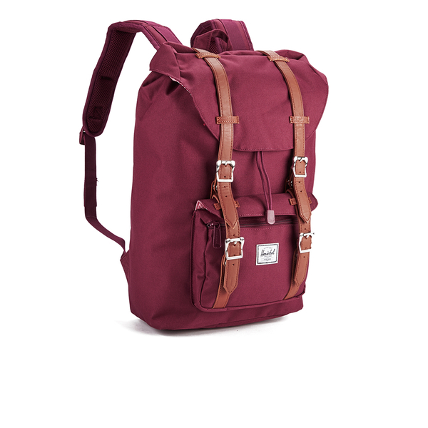 Herschel Little America in Burgundy dBrjsm