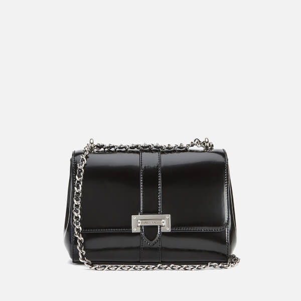 Aspinal of London Women's Patent Lottie Bag - Black