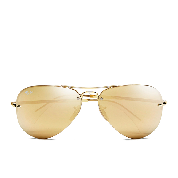 Ray-Ban Aviator Sunglasses - Gold
