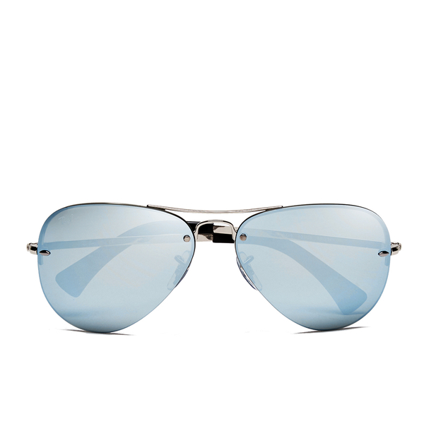 Ray-Ban Aviator Sunglasses - Silver