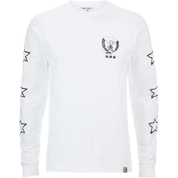 Carhartt X Moodymann Men's Long Sleeve MMC Set U Free T-Shirt - White