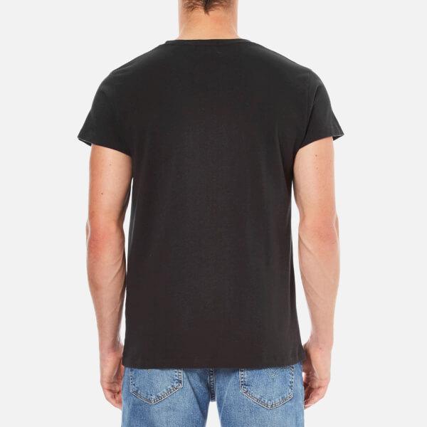 Levi 39 s vintage men 39 s 1950s sportswear t shirt black for Mens black levi shirt