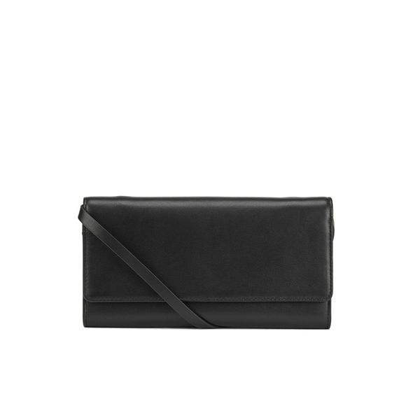 WANT LES ESSENTIELS Women's Bradshaw Wallet With Strap - Black