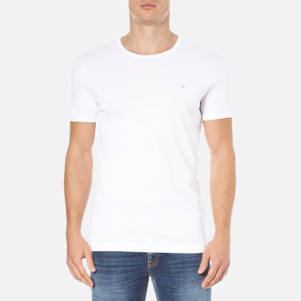 Calvin Klein Men's Bron T-Shirt - Bright White
