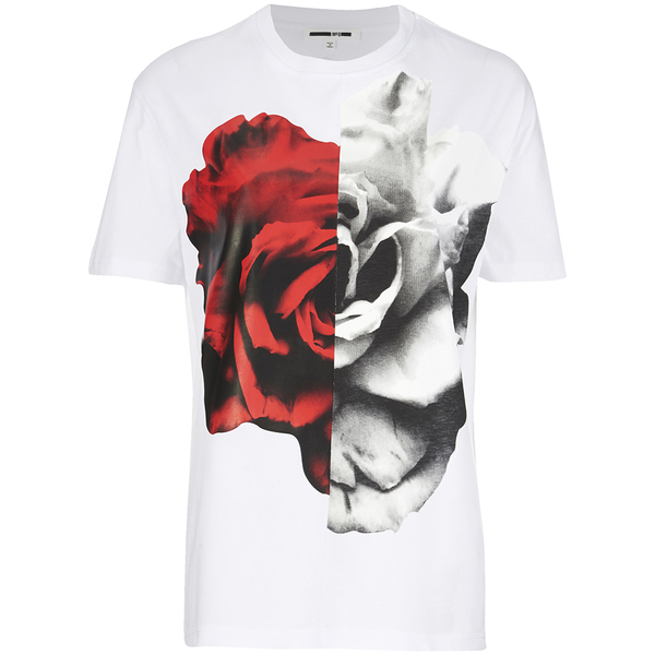 McQ Alexander McQueen Women's Split T-Shirt - Optic White