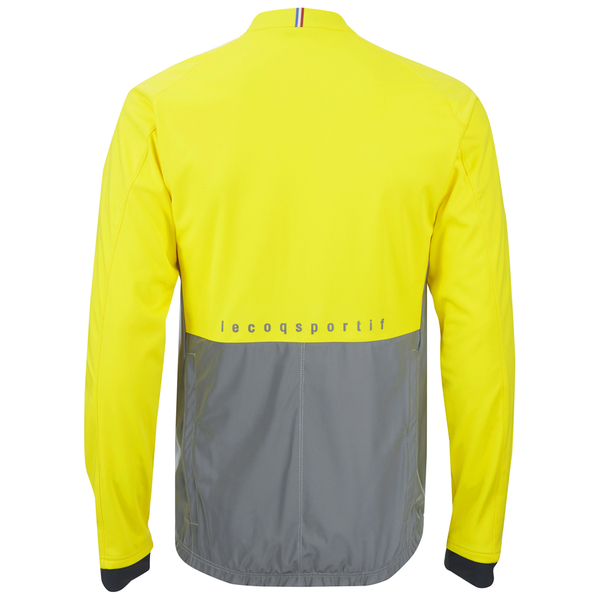 le coq sportif performance classic n2 jacket yellow probikekit uk. Black Bedroom Furniture Sets. Home Design Ideas