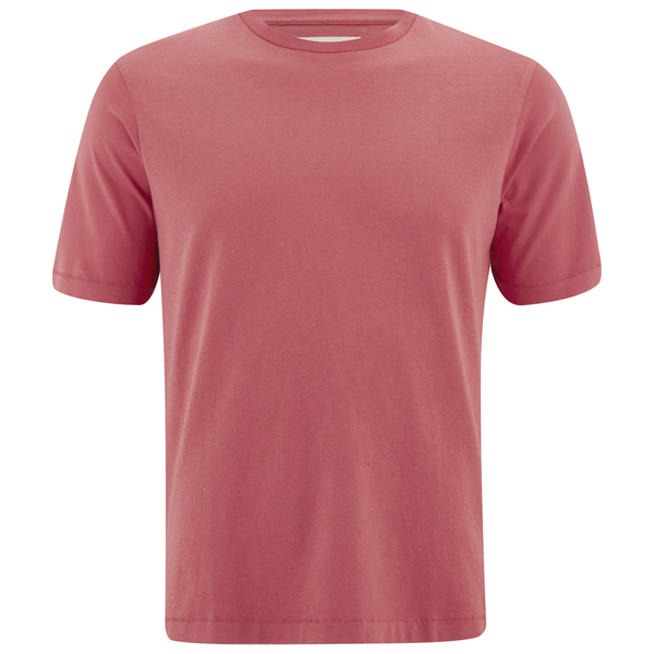 Folk Men's Plain Crew Neck T-Shirt - Sunset