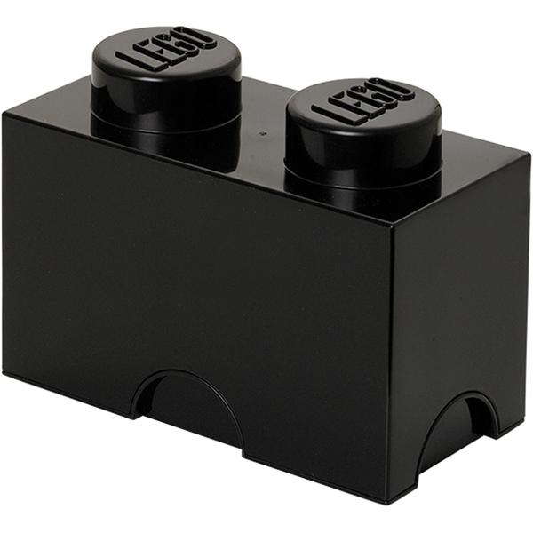 LEGO Storage Brick 2- Black