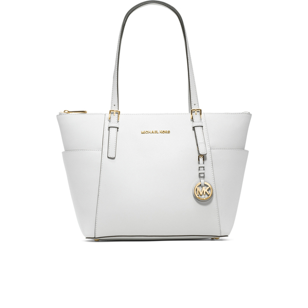 MICHAEL MICHAEL KORS Women's East West Tote Bag - Optic White