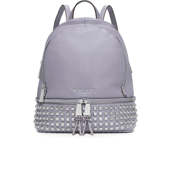 00cb2951e95106 MICHAEL MICHAEL KORS Women's Rhea Studded Zip Backpack - Lilac: Image 1