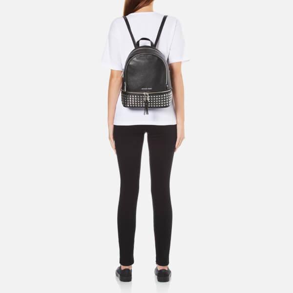847d57c3c8a7 MICHAEL MICHAEL KORS Women's Rhea Studded Zip Backpack - Black: Image 2