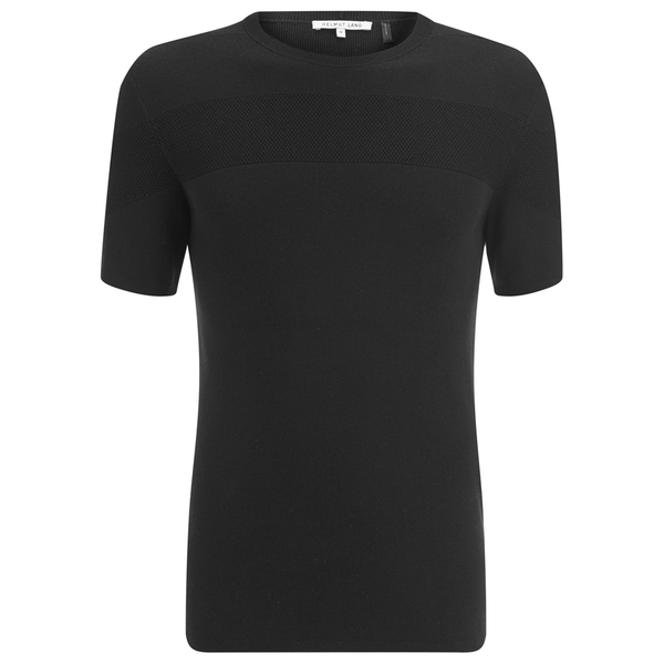 Helmut Lang Men's Cotton Silk Cashmere T-Shirt - Black